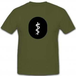 Medizinischer Dienst Sanitäter Abzeichen NVA DDR Emblem - T Shirt #7908