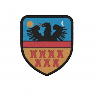 Patch Siebenbürgen Heimat Sachsen Transsilvanien Rumänien Wappen #36721
