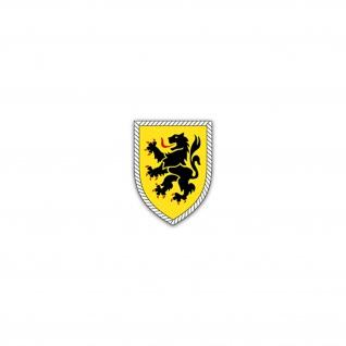 Aufkleber/Sticker 10 Panzerdivision PzDiv Bundeswehr Heer Militär 5x7cm A2703