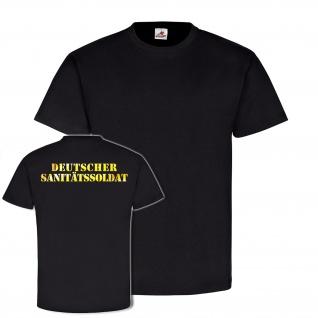 Deutscher Sanitätssoldat BW Deutschland Militär Sani Paramedic T-shirt #18759
