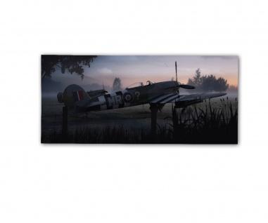 Poster rOEN911 Hawker Typhoon Mk1b MN 819 The Tiffy Sqn Ldr Jack ab30x14cm#30710