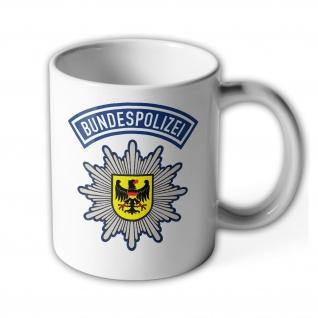 BPOL Bundespolizei Beamter Abzeichen Stern Wappen Adler Dienst Tasse #27692
