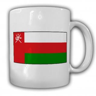 Sultanat Oman Fahne Flagge Uman Kaffee Becher Tasse #13840
