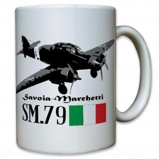Savoia Marchetti SM 79 Italien italienischer Bomber - Tasse #12287