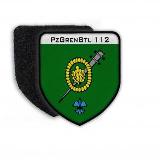 Patch PzGrenBtl 112 Regen Bundeswehr Panzergrenadierbataillon Bayern#22100