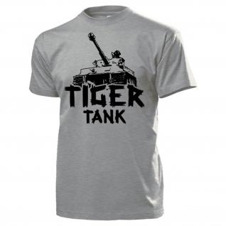 Tiger Tank Panzerkampfwagen Deutschland Panzer WK 2 - T Shirt #13800