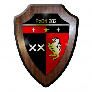 Wappenschild PzBtl 202 Panzer Bataillon Panzerbataillon Hemer Bundeswehr #12282