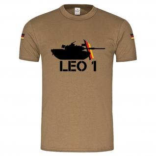 BW Tropen Panzer Leo 1 Tank Leopard original Tropenshirt Tropenhemd ISAF #14894