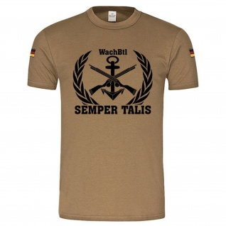 Gr. L - WachBtl Marine Tropenshirt #R939