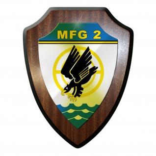 Wappenschild / Wandschild / Wappen - Marinefliegergeschwader MFG 2 #8382