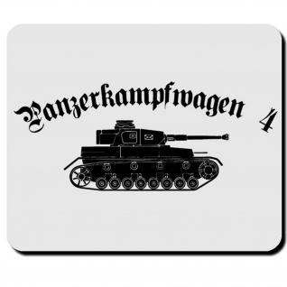 Panzerkampfwagen 4 Wh Fahrzeug Wk Panzer Waffengeschütz Mauspad #16536