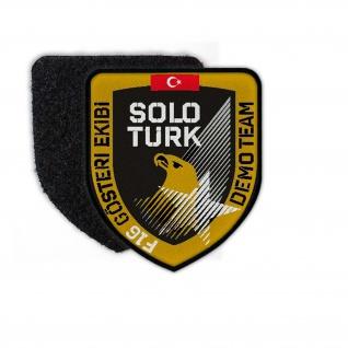 Solo Türk Patch Militär F16 Gösteri EKIBI Aufnäher abzeichen wappen Logo #24367