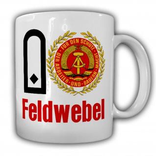 Feldwebel NVA DDR Nationalen Volksarmee LSK Luftverteidigung Tasse #17179