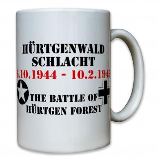 Hürtgenwald Schlacht Wk Grüne Hölle Wh Amerika Battle Of Us - Tasse #7991