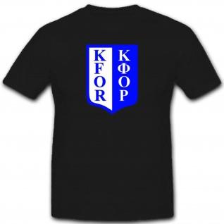 Kfor Armee Militär Bundeswehr Einheit Albanien Kosovo Krieg T Shirt #1918