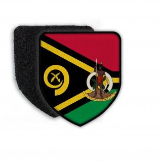 Patch Flag of the Vanuatu Flagge Land Staat Wappen Zeichen Aufnäher #21955