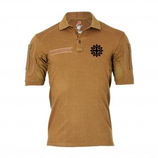 Tactical Poloshirt Alfa - Balkenkreuz schwarzes Kreuz Hoheitszeichen #19329
