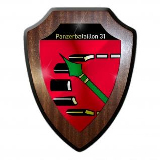 Wappenschild Panzerbataillon 31 Armee Soldaten Bund Militär Marine Heer #31114