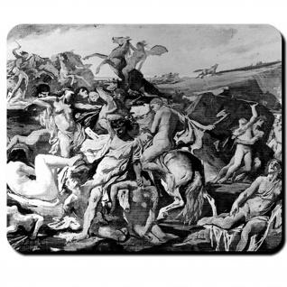 Amazonenschlacht WK 1869 Amazonen Trojanischer Krieg Museum Kampf Mauspad #16134