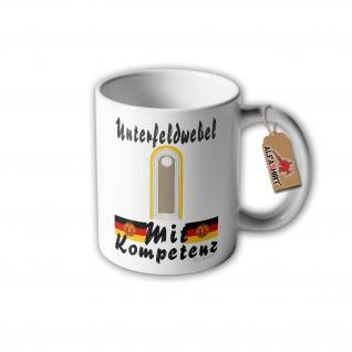 Unterfeldwebel des Nachrichten Dienst Tasse NVA Ufw Ostdeutschland DDR #31632