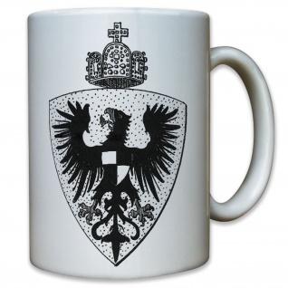 Wappen Preußen 1871 Adler Königreich Kaiser Wilhelm Deutschland - Tasse #9542