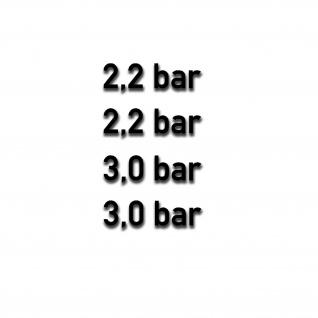 Reifen druck Aufkleber Kotfklügel Beschriftung BAR 2, 2 3, 0 4x 5x1, 5cm#A5208