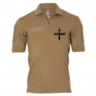 Tactical Poloshirt Alfa - ALFASHIRT TM Schwert Army Infidel Polo Shirt #19008
