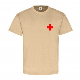 Medic Sani Sanitäter Rot Kreuz First Aid Erste Hilfe care fire - T Shirt #17245