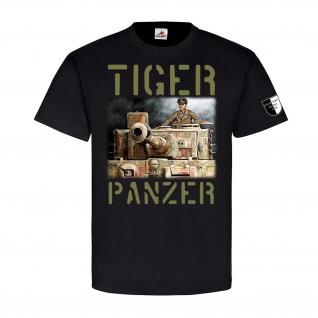 Lukas Wirp TIGER Panzer Normandy194 Panzerkampfwagen 007 Gemälde T Shirt #23493