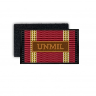 Einsatzbandschnallen UNMIL Patch Mission Vereinte Nationen Liberia BW #33798