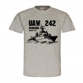 UAW 242 Parchim DDR Schiff NVA Volksmarine Boot Besatzung T-Shirt #24260