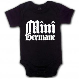 Mini Germane Kleinkind Baby Kleidung Deutschland Wikinger - Babystrampler #7491