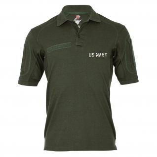 Tactical Poloshirt Alfa - Us Navy USMC Amerika USA Marine Corps #19088