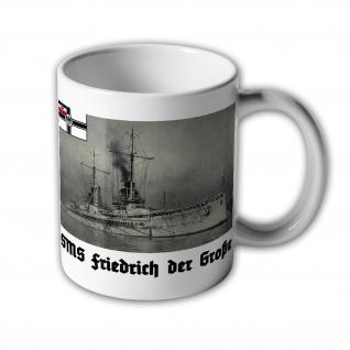 Tasse SMS Friedrich der Große Großlinienschiff Schlachtschiff WK 1 Marine #31442
