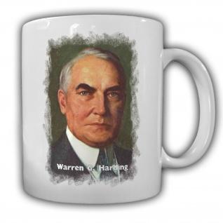 Tasse Präsident Warren G. Harding 29 Präsident Amerika America USA Kaffee #14128
