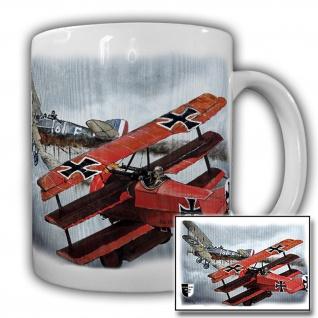 Tasse Lukas Wirp Roter Baron Manfred von Richthofen Flugzeug Ritter #23477