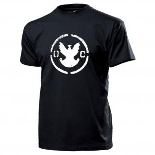 Zivilschutz Polen OC Polska Logo Abzeichen Wappen Adler Hemd - T Shirt #14542