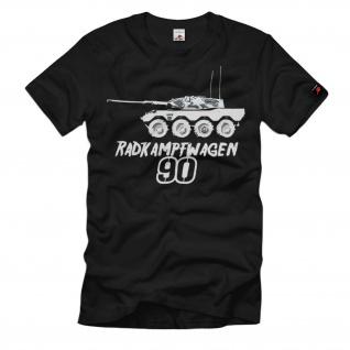 Radkampfwagen 90 Rad-Panzer Bundeswehr Prototyp Leopard 1 Tum T-Shirt #36768