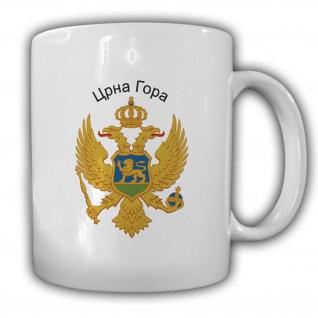 Montenegro Wappen Emblem Kaffee Becher Tasse #13810