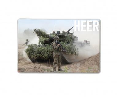 Poster M&N Pictures Bundeswehr HEER Infnaterie Leo Panzer Jäger ab30x20cm#30281