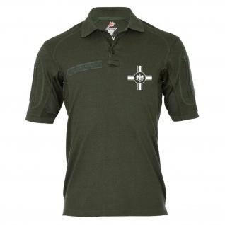 Tactical Poloshirt Alfa - Old Germany Preußen Balkenkreuz Kaiserreich #18987