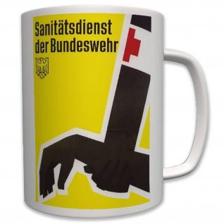 Militär Sanitätsdienst Bundeswehr Deutschland Poster - Tasse #6443