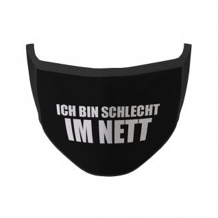 Mund Nasen Maske schlecht im Nett Fun Einstellung Böse Lustig Humor Fun #35270