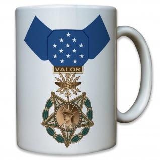 US Medal of Honor Air Force Wappen Abzeichen Emblem Einheit - Tasse #12576
