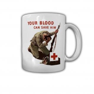 Medical Help Soldier Soldaten Medizin Lebensretter Arzt Medizin Tasse #27640