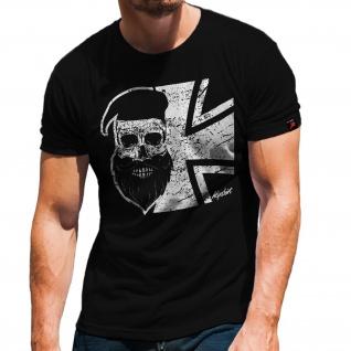 Skull Barett Bundeswehr Bw Alfashirt Bart Hemd T-Shirt#32203