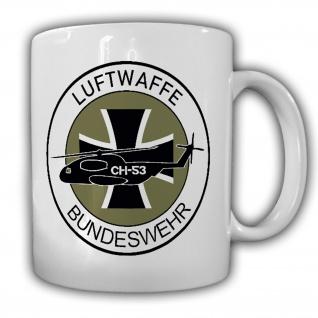 Luftwaffe Bundeswehr Ch53 Heer Abzeichen Heli Fritzlar - Tasse #18176