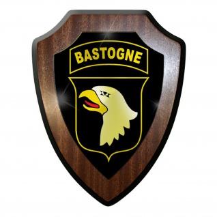 Wappenschild / Wandschild / Wappen - Airborne Fallschirmjäger Bastogne #9026