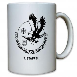 3 Staffel FlaRakGrp 21 Flugabwehrraketenguppe Luftwaffe - Tasse #12750