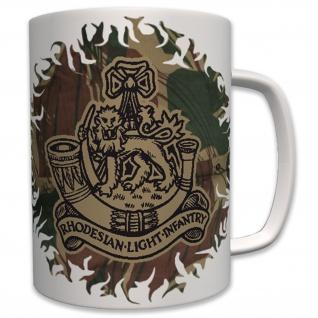 RLI Rhodesian Light Infantry Wappen Abzeichen Emblem Infanterie - Tasse #5771